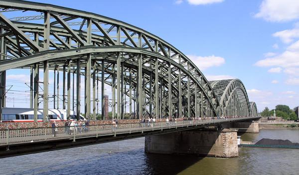 Мост Гогенцоллернов (Hohenzollernbrücke)