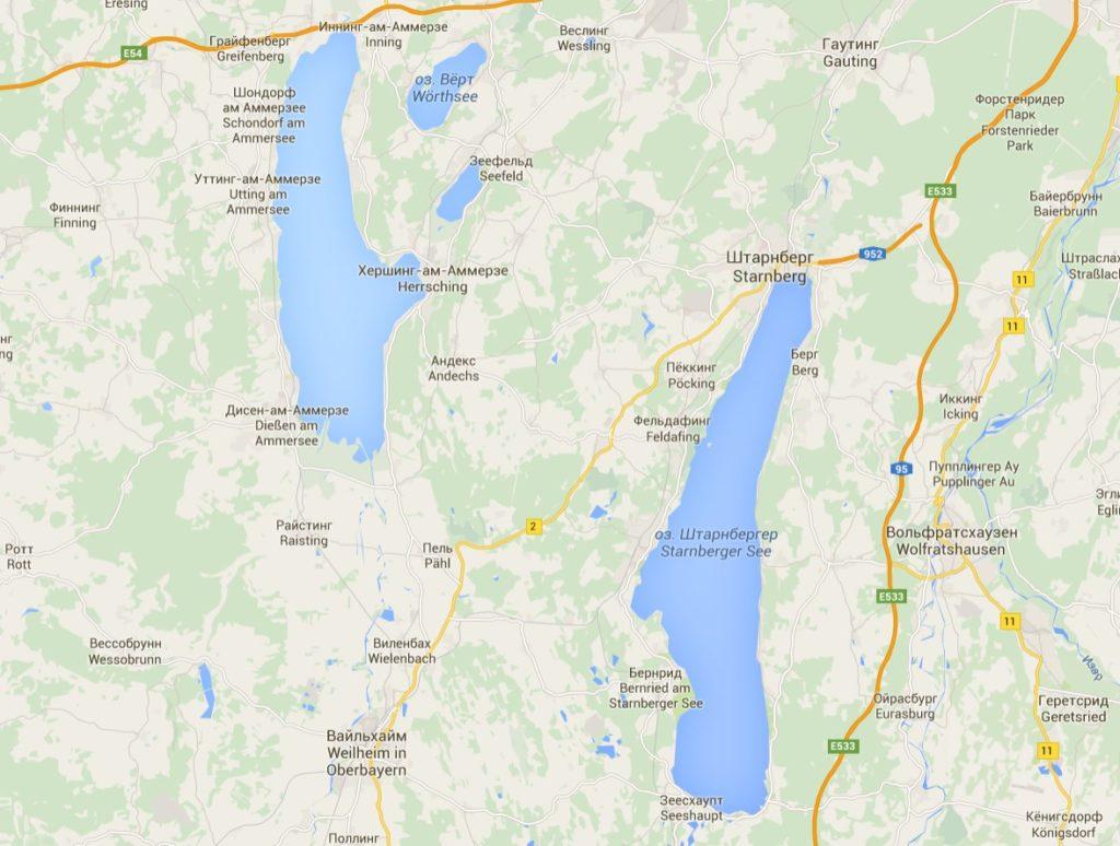 Бавария: Край тысячи озёр